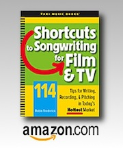 Shortcuts to Songwriting for Film & TV at Amazon.com