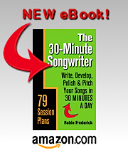 The 30-Minute Songwriter at Amazon